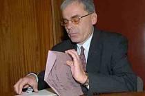 Bývalý starosta Černivi Milan Fáček.