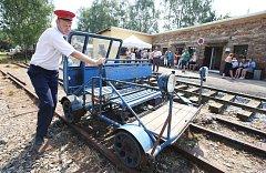 Slavnostní otevření expozice železniční trati a regionálního muzea Lovečkovic.