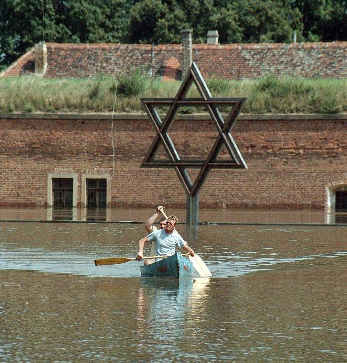 Povodně 2002. Terezín