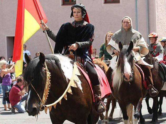 Husitské slavnosti v Třebušíně 2014