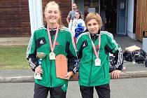 ÚSPĚŠNÍ medailisté Sport Judo Litoměřice v Grazu.