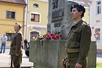 Pietní akt při příležitosti 8. května ve Štětí
