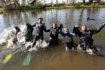Potápěči odemkli řeku Ohře, 2019