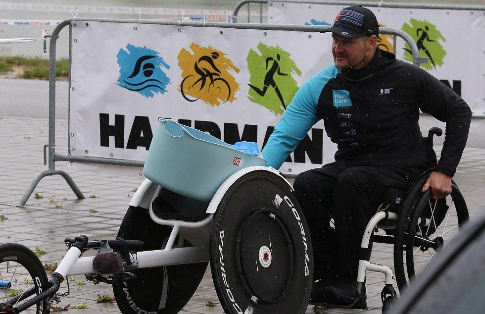 V sobotu se konal v Labe aréně v Račicích první letošní celorepublikový triatlon.