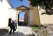 V Úštěku probíhaly hodinové komentované prohlídky místního hradu, který se postupně rekonstruuje
