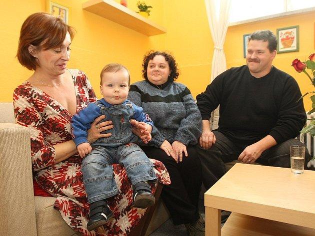 Den otevřených dveří v Poradně pro náhradní rodinnou péči v Litoměřicích.