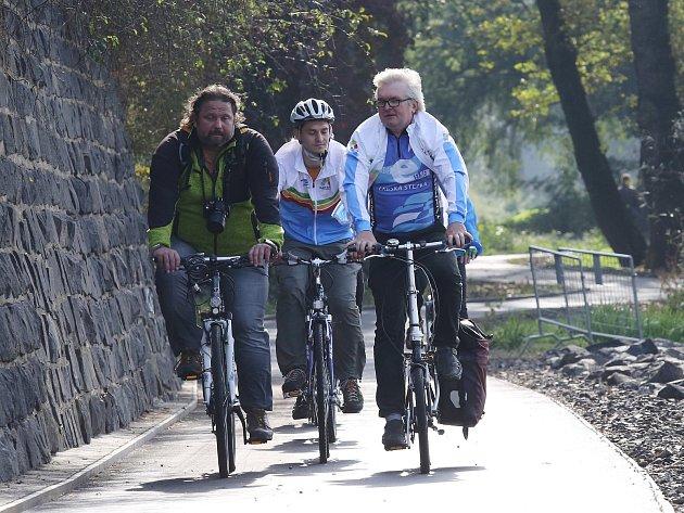 Libochovičtí chtějí například cyklostezku do Duban. Ilustrační foto.