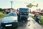 Dopravní nehoda v Třebívlicích