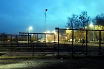 Rekonstrukce autobusového nádraží v Lovosicích se blíží ke konci.