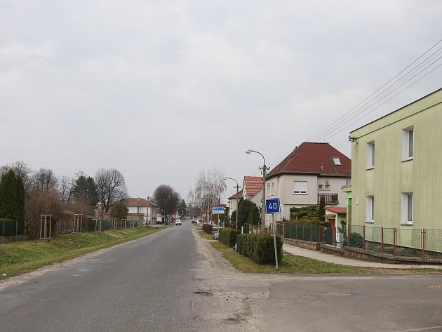 Holoubkov před revitalizací, snímek z 17. března 2017.