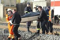 Tragická nehoda, při níž zemřeli dva zaměstnanci dodavatelské firmy, kteří pracovali v kolejišti