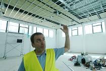 Ve Štětí vyrůstá nová loděnice v rámci Labe arény.
