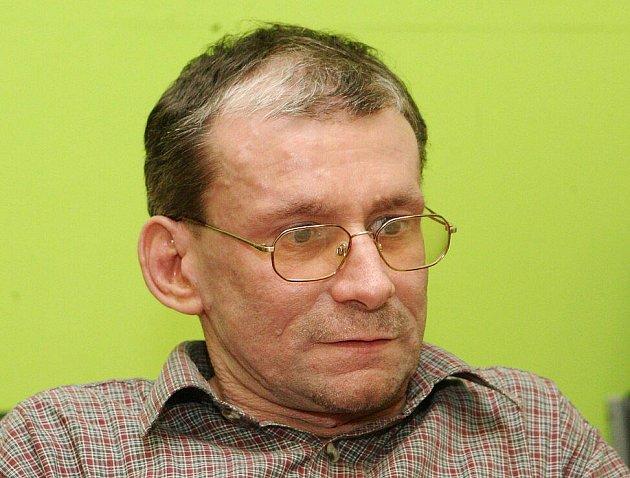 Miroslav Patrik, předseda ekologického hnutí Děti Země.
