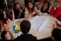 Mladé fórum aneb Desatero problémů Litoměřic očima mládeže v ZŠ Boženy Němcové
