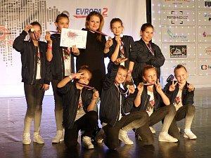 Výběr taneční skupiny DMC Revolution se probojoval na světový šampionát v Leidenu.