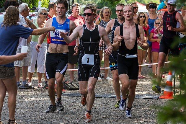 OBODY do seriálu KS se bojovalo např. při triatlonu vHostěnicích uBrozan.