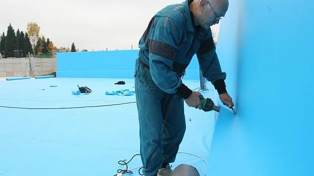 Rekonstrukce štětského koupaliště pokračuje...