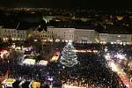 vánoce, rozsvícení vánočního stromu, zbytek foto