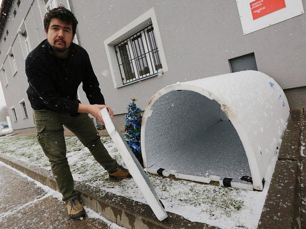 Roudnická Naděje poskytuje nově přístřeší pro bezdomovce