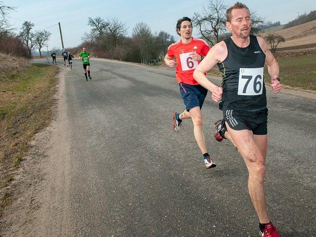 Běhu na Boreč se letos zúčastnilo 92 atletů.
