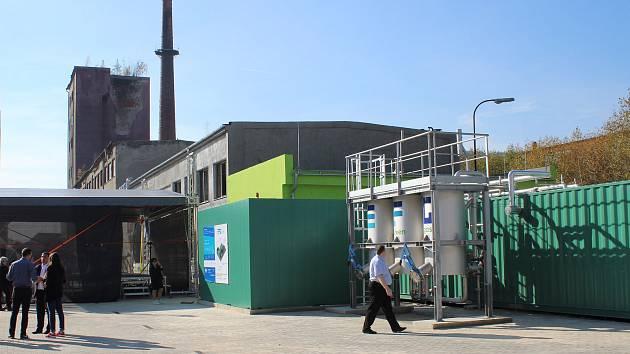 Ilustrační snímek. Energetické centrum recyklace, bioplyn.