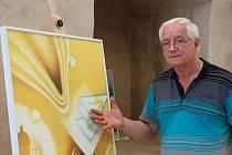 Jan Dinga na litoměřické výstavě