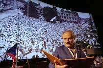 Vzpomínkový večer na sametovou revoluci v Litoměřicích.