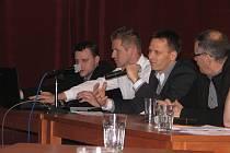 NA VH OFS (zleva) Jan Novotný, Miloš Vitner, Rudolf Řepka a Ján Kudlička.