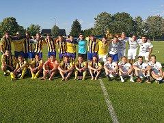 Fotbalové oslavy v Lukavci.