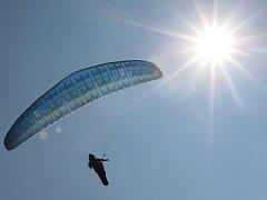 Paragliding - ilustrační foto