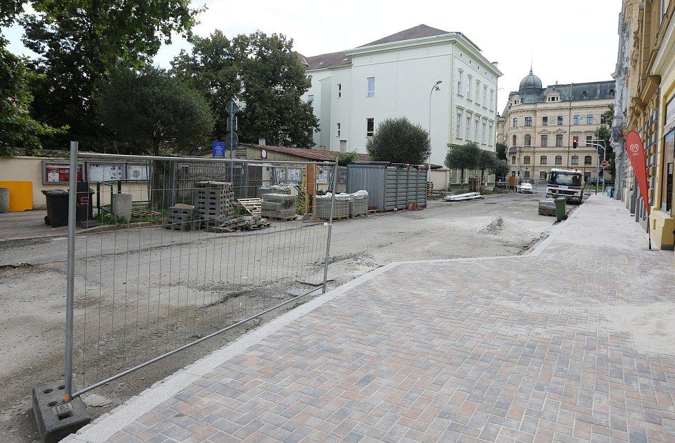 Rekonstrukce ulice Sovova finišuje.