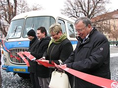 Slavnostní zahájení nového systému dopravy v Roudnici nad Labem