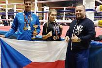 Zleva: Stanislav Godla, Lenka Masopustová a Vít Masopust.