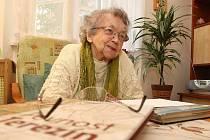 DAGMAR VYDROVÁ letos oslavila 90. narozeniny.