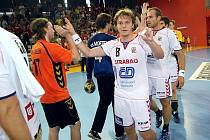 Jiří Motl v utkání reprezentace proti Nizozemsku.