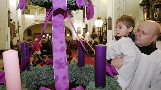Zahájení adventu v Litoměřicích - 2013