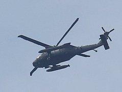 Přelet vrtulníků