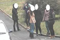 Děti ve Štětí pod dohledem kamery