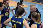 Basketbalistky Slovanu Litoměřice 2018/2019. Foto: BK Slovan Litoměřice