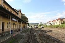 Rekonstrukce horního nádraží je v plném proudu