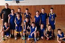 Basketbalisté Slavoj BK Litoměřice U11.