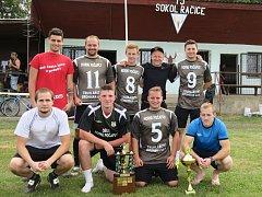 1. místo Božkov team.