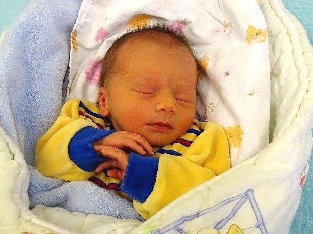 Richard Pospíchal se narodil Lucii Zajptové  a Luďkovi Pospíchalovi z Lovosic 12.12. v 18:09 hodin v Litoměřicích. Měřil 45 cm a vážil 2,72 kg.