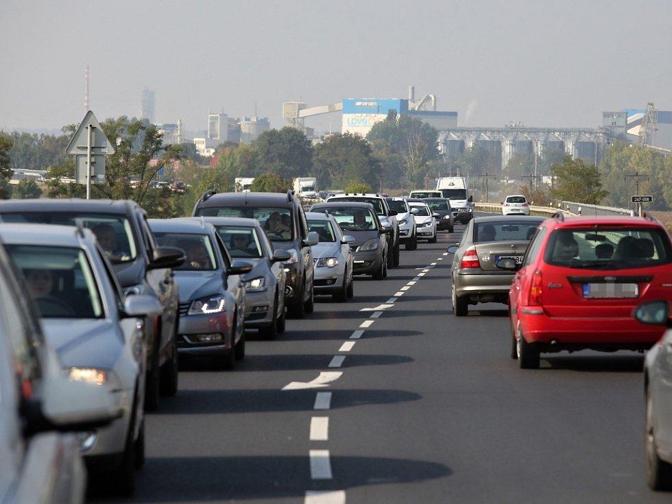 Dopravní situace u Litoměřic je zoufalá