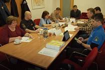Bezpečnostní rada města Lovosice při svém středečním zasedání.