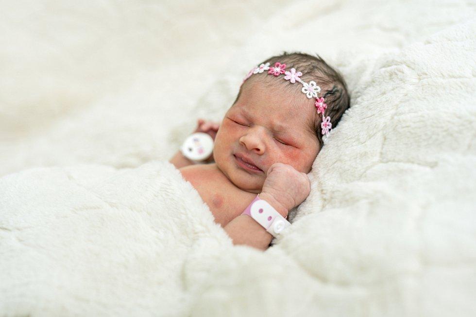 Melanie Klímová se narodila Janě Skokanové a Tomášovi Klímovi z Doksan 1. října ve 3.40 hodin v Roudnici n. L. (47 cm a 2,65 kg).