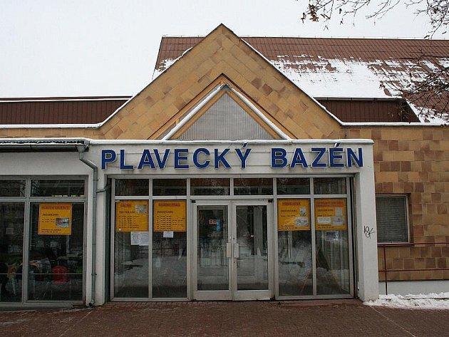 Plavecký bazén v Litoměřicích.