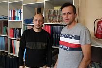 Robert Mühlfait a Pavel Zuna.