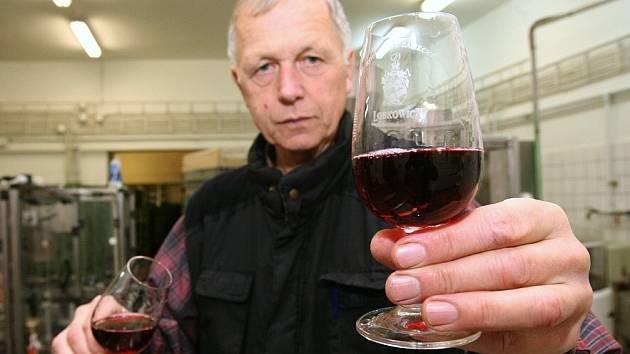 Svatomartinské z Lobkowiczkého zámeckého vinařství v Roudnici.