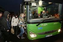 Autobusy jezdící na Litoměřicku